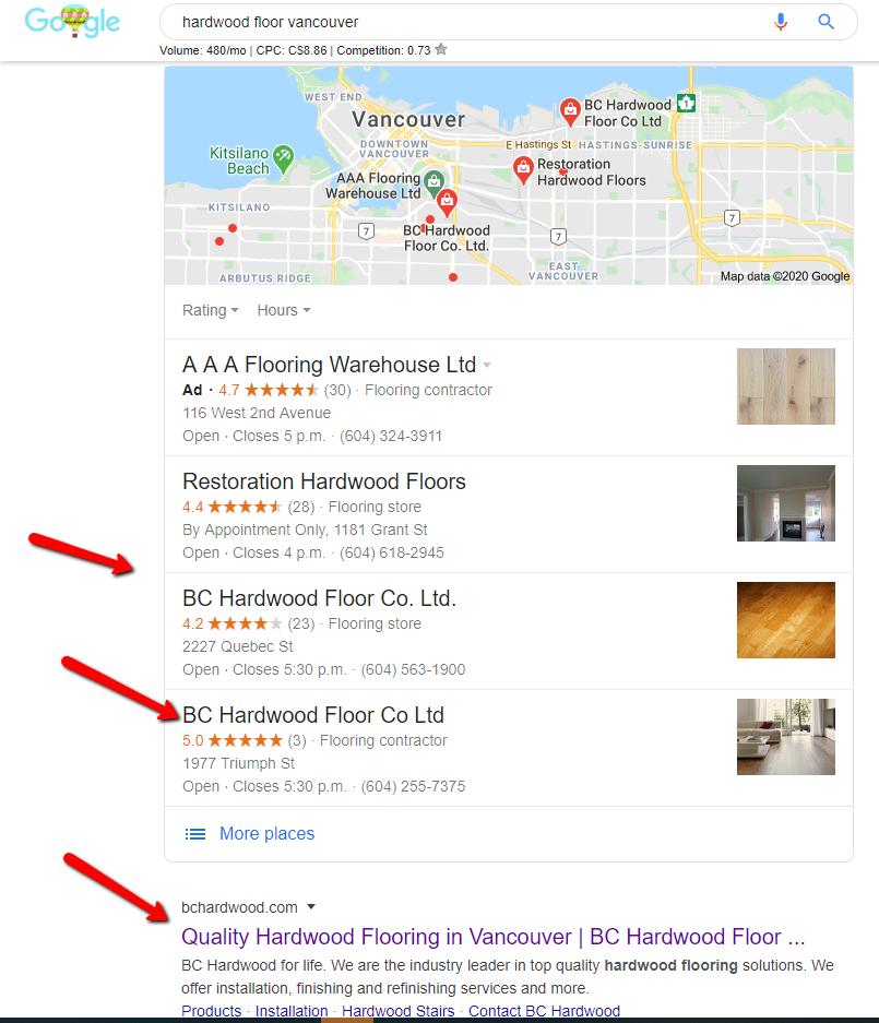 hardwood floors vancouver rankings
